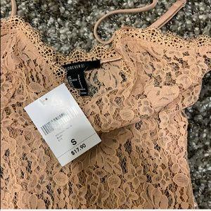 NEVER WORN Lace Bodysuit